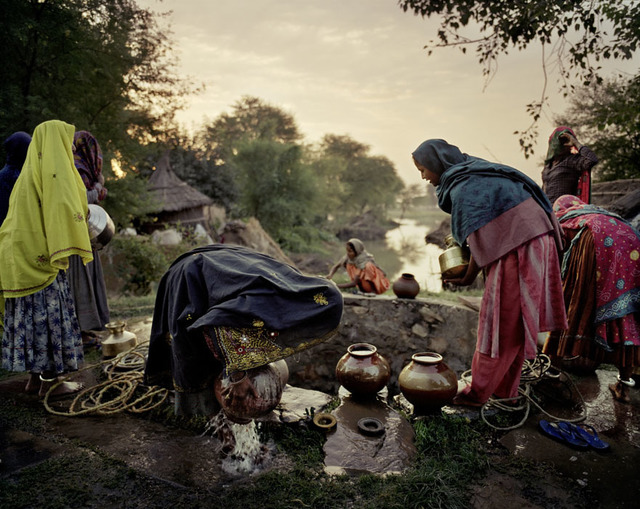 , 'The Village Well,' , Polka Galerie
