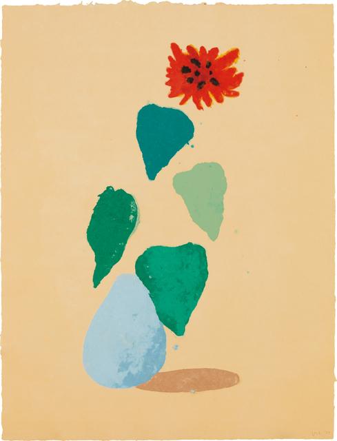 David Hockney, 'Sunflower H (Paper Pool I)', 1978, Phillips