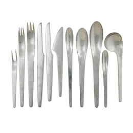Ten-Piece AJ Flatware Set For Eight With Six Serving Pieces (95 Total), Denmark
