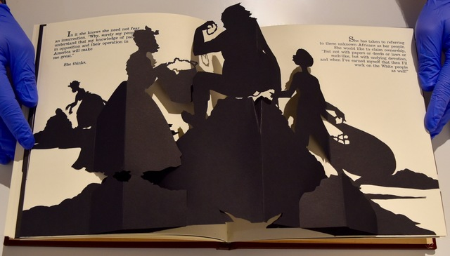 Kara Walker, 'Freedom, a Fable: A Curious Interpretation of the Wit of a Negress in Troubled Times', 1997, ISCP: Benefit Auction 2018