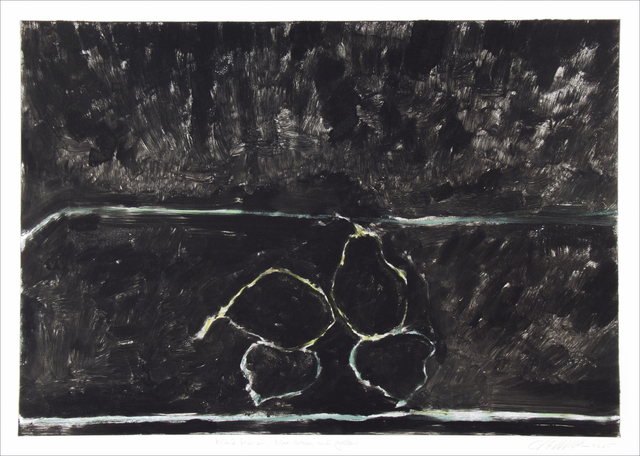 , 'Black Pears, Blue, Green and Yellow,' 2005, Manneken Press