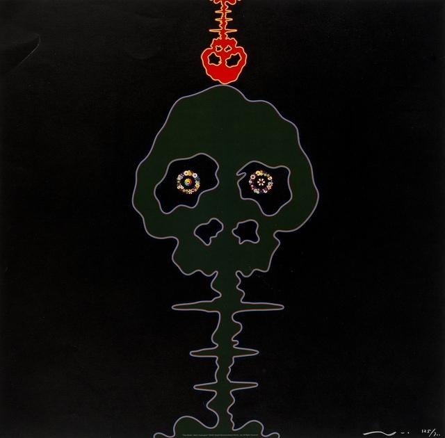 Takashi Murakami, 'Time Bokan (Black & Moss Green)', 2001, Forum Auctions