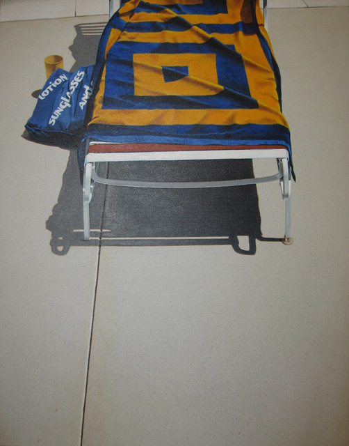 Guy Diehl, 'Lounge with Yellow and Blue Towel', 1981, Dolby Chadwick Gallery