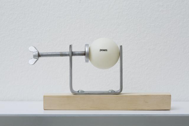 , 'Ping-Poem No 3.1, from series regarding forms,' 2014, Galeria Millan