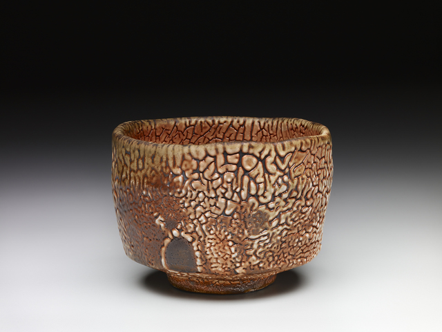, 'Tea bowl, shino glaze over iron slip,' , Pucker Gallery