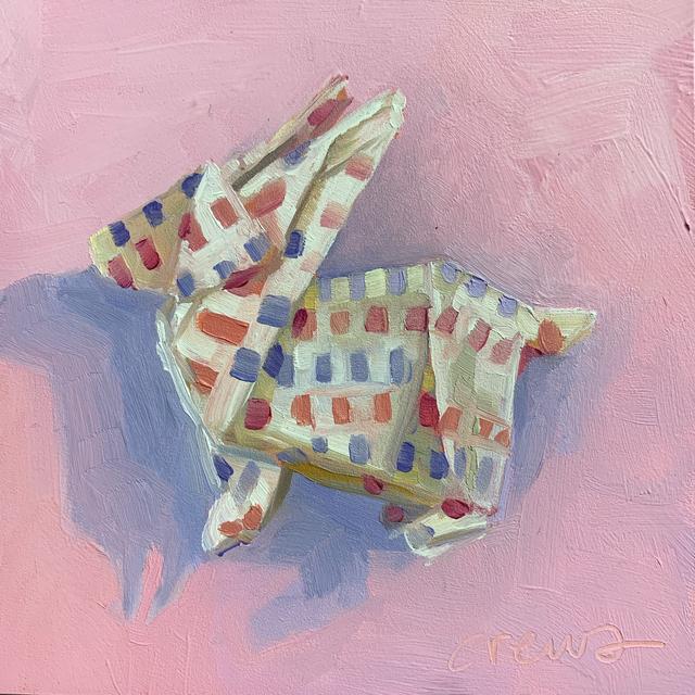 , 'Origami Rabbit,' 2018, LeMieux Galleries