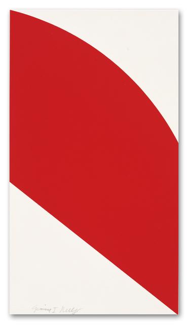 , 'Red Curve,' 2006, Gemini G.E.L.