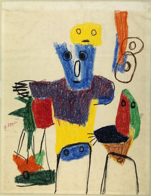 , 'Enfants quémandant,' 1949, Centre Pompidou