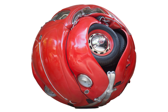 , 'Beetle Sphere - Classic Red Series,' 2016, Redbase Art
