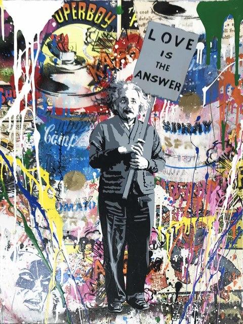 Mr. Brainwash, 'Einstein', 2018, Hamilton-Selway Gallery Auction