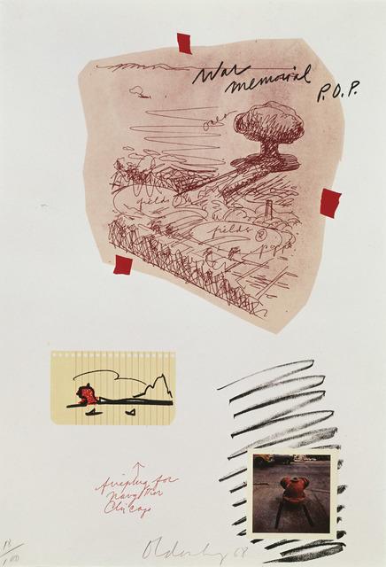 Claes Oldenburg, 'Notes (P.O.P.)', 1968, Print, 13 color lithograph/embossing, Gemini G.E.L.