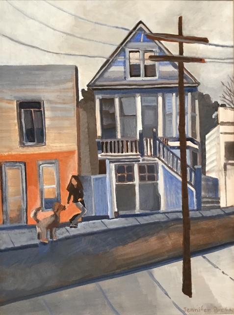 , 'Little Blue House on Florida Street,' 2018, Matt Brown Fine Art