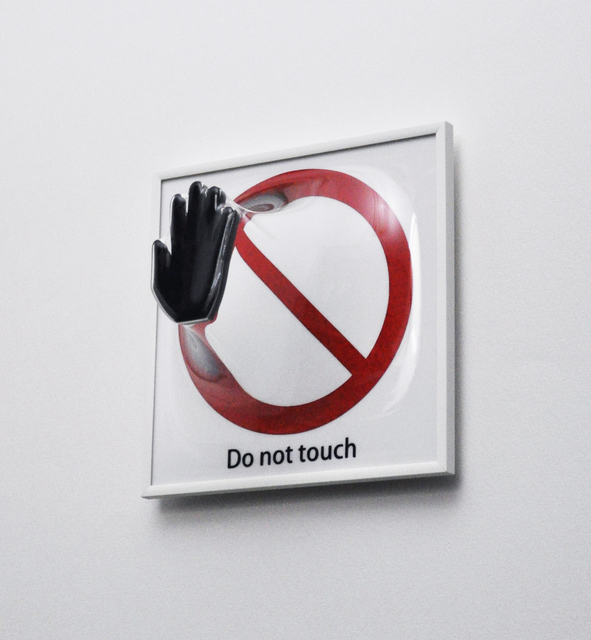 , 'Do not touch,' 2017, A.Style