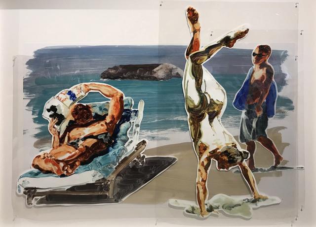 Eric Fischl, 'Untitled (Handstand)', 2017, Dallas Collectors Club