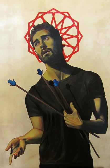 , 'Icon with Arrows,' 2016, Aicon Gallery
