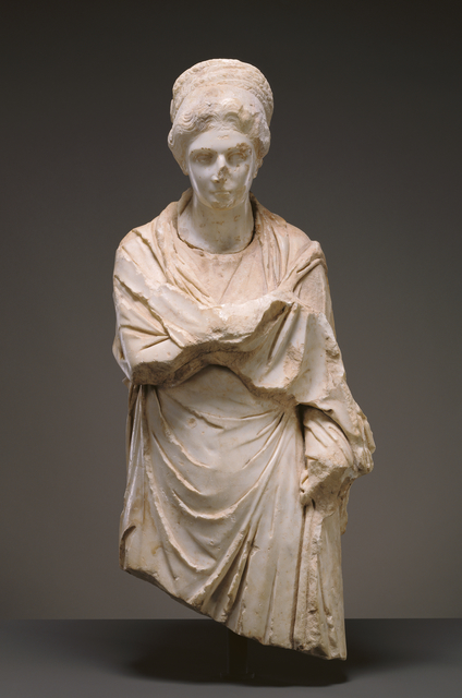 'Portrait Statue of a Woman', ca. 120 -130, J. Paul Getty Museum