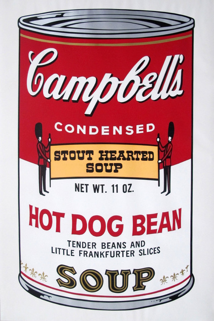 Andy Warhol, 'Campbells Soup II: Hot Dog Bean (FS II.59)', 1969, Print, Screenprint on Paper, Revolver Gallery