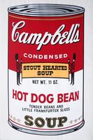 Andy Warhol, Campbells Soup II: Hot Dog Bean (FS II.59)