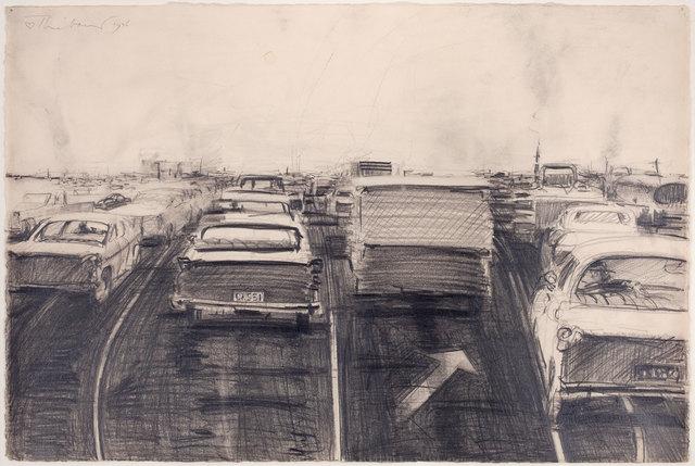 , 'Traffic,' 1976, Allan Stone Projects