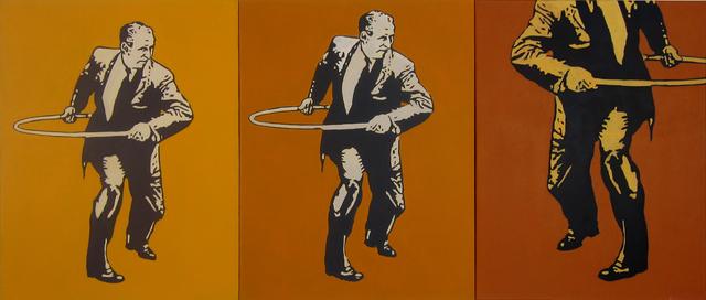 , 'Hula Hoop Man,' 2012, Susan Eley Fine Art