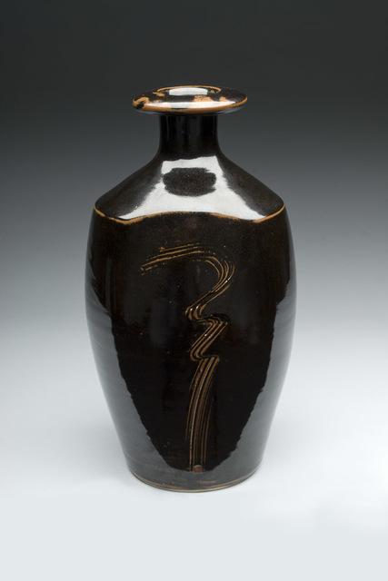, 'Tenmoku Bottle,' 1985, Lacoste Gallery