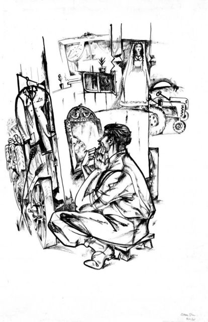Stan Done, 'Preparation', 1964, Nasui Collection & Gallery