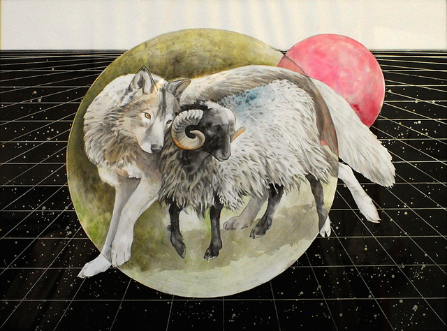 , 'The Wolf and the Ram,' 2017, AFA Gallery