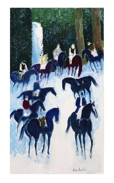 , 'Cavaliers de Loupeigne,' 2016, Opera Gallery