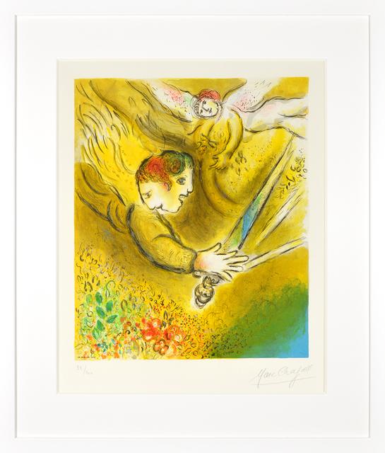 Marc Chagall, 'L'ange du jugement (The Angel of Judgment)', 1974, Kings Wood Art