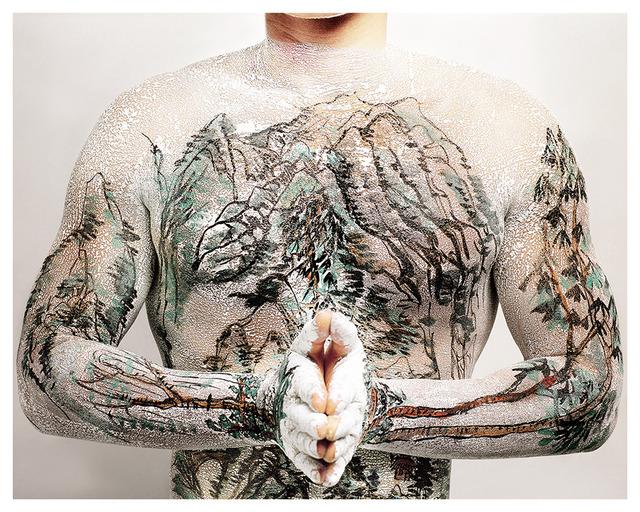Huang Yan, 'Chinese Shan-shui Tattoo 04', 1999, Leo Gallery