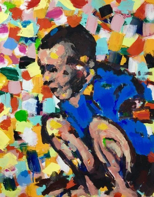 Cheikhou Ba, 'The hero', 2019, Kristin Hjellegjerde Gallery