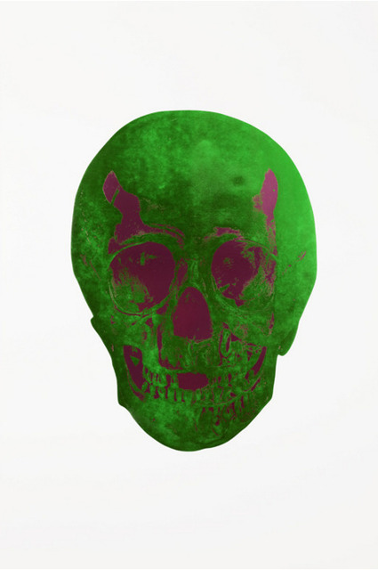 , 'The Dead: Lime Green Loganberry Pink Skull,' , Other Criteria