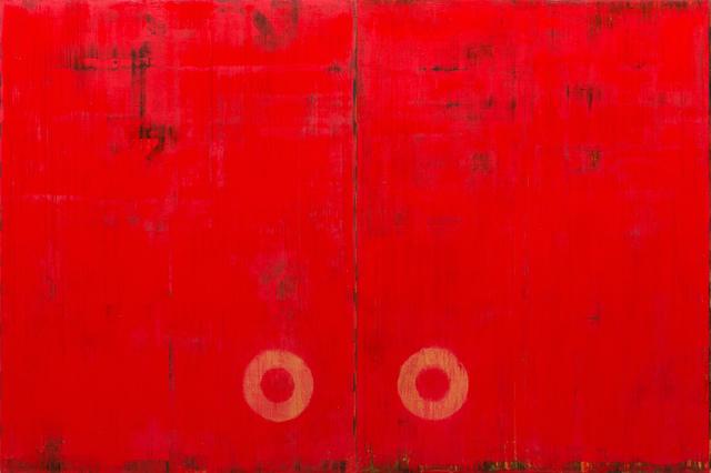 Robert Kelly, 'Berber Wedding VII', ca. 1998, Painting, Mixed media (diptych), Bentley Gallery