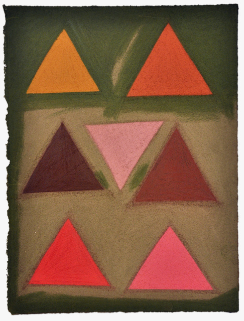 , 'Untitled (colored triangles),' 2015, Fleisher/Ollman