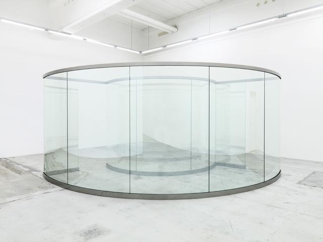 Dan Graham, 'Tunnel of Love', 2014, Installation, Stainless steel and two-way mirror, Galleri Nicolai Wallner