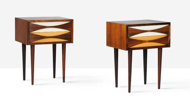 Arne Vodder, 'Nightstands, pair', circa 1960, Aguttes