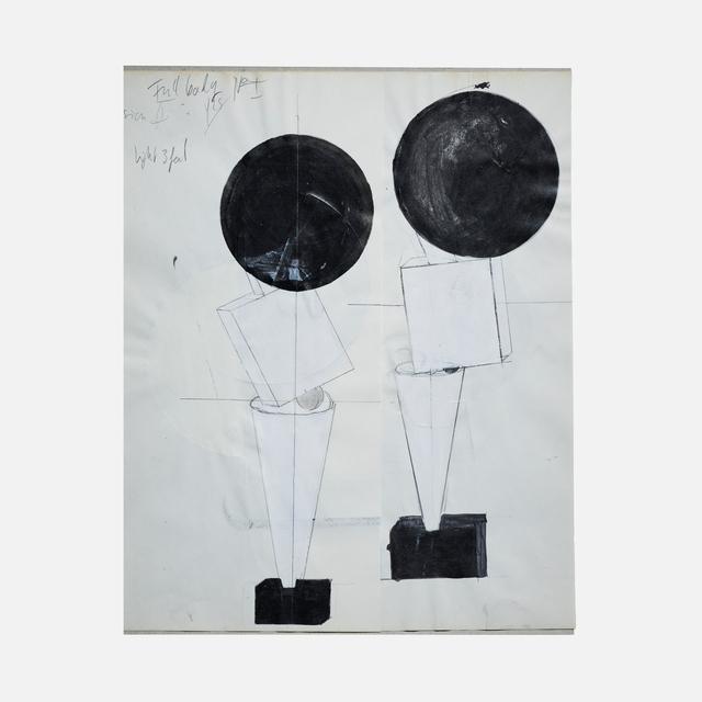 , 'Figure 1,' 2016, Helwaser Gallery