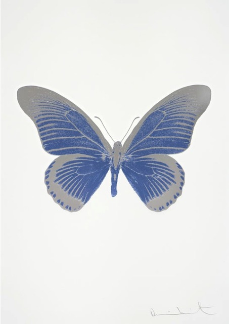 , 'The Souls IV - Cornflower Blue - Silver Gloss - Blind Impression,' 2010, Other Criteria