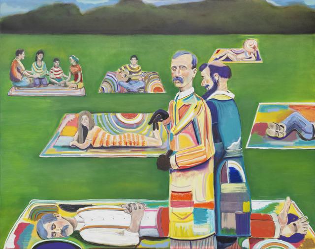 , 'Doppelgänger Picnic,' 2017, Galerie EIGEN + ART