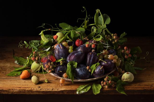 , 'Wild Raspberries, after G.G.,' 2013, Robert Klein Gallery