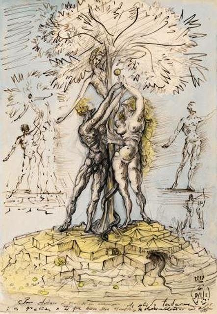Salvador Dalí, 'Adam et Eve', 1948, HG Contemporary