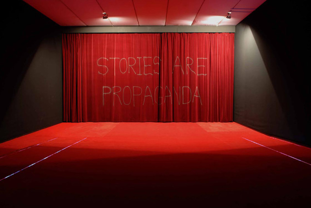 , 'Stories are Propaganda,' 2005, Pilar Corrias Gallery