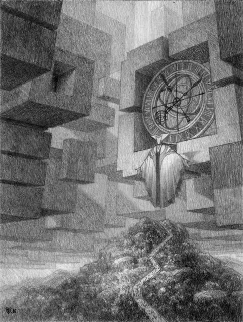 Christophe Vacher, 'Chronos: The Wheel of Time', 2017, IX Gallery