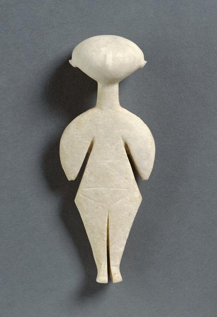 'Female Figure of the Kilia Type', 2800 BCE -2200 BCE, J. Paul Getty Museum