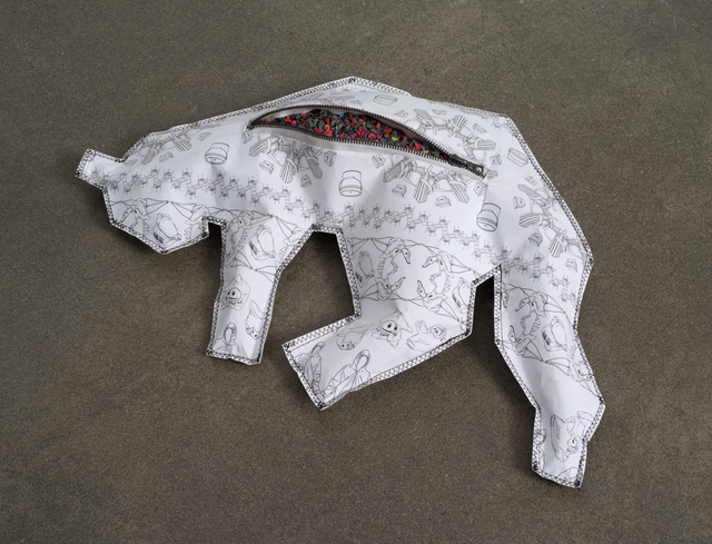 , 'Body Bag for Cats (High Density Polyethylene / HDPE), No. 1,' 2013, bitforms gallery