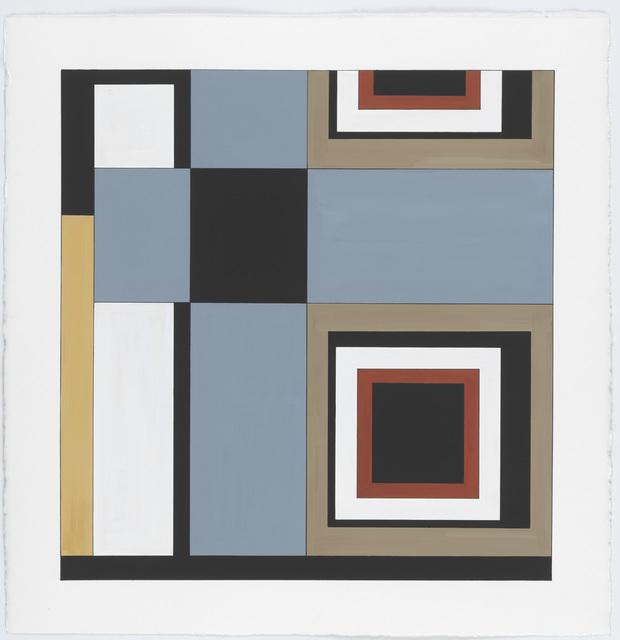 , 'Carpet Color Study #1,' 2014, New Art Centre
