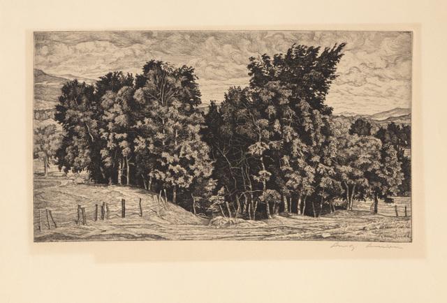 Luigi Lucioni, 'Birch Group', 1944, RoGallery