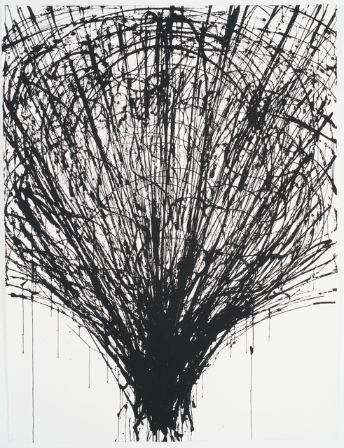 , 'Crayonnage,' 2010, Phosphorus & Carbon