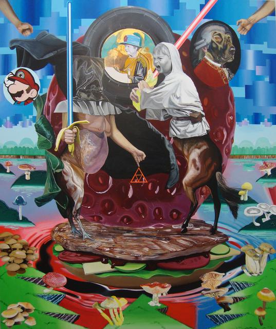 , 'Hercules Furens,' 2017, Kourd Gallery