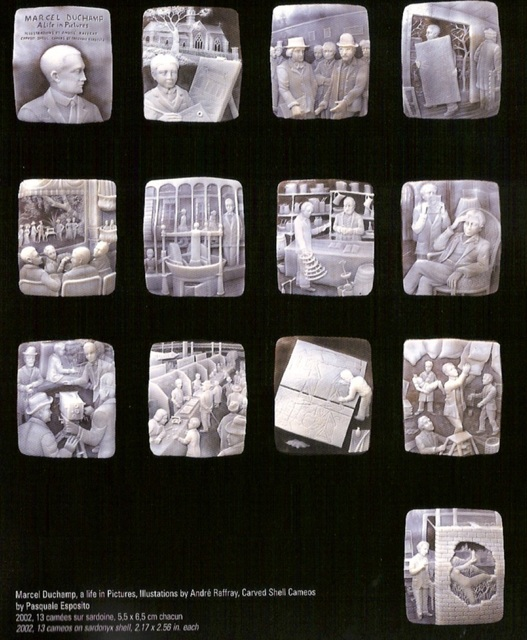 , 'Marcel Duchamp, a life in Pictures,' 2002, Federico Luger (FL GALLERY)